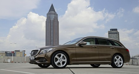 C-Class-T-Modell Pressdrive Deidesheim/Germany July 2014