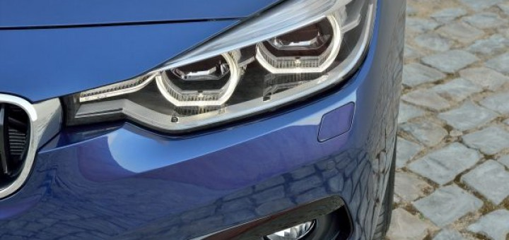 BMW 3series Front blue