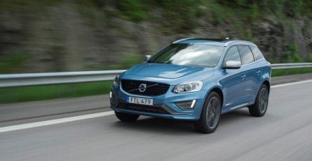 Volvo XC60 - model year 2016. exterior, driving