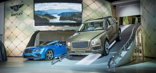 Bentley at Frankfurt motor showPhoto: James Lipman