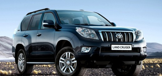Land Cruiser Prado front