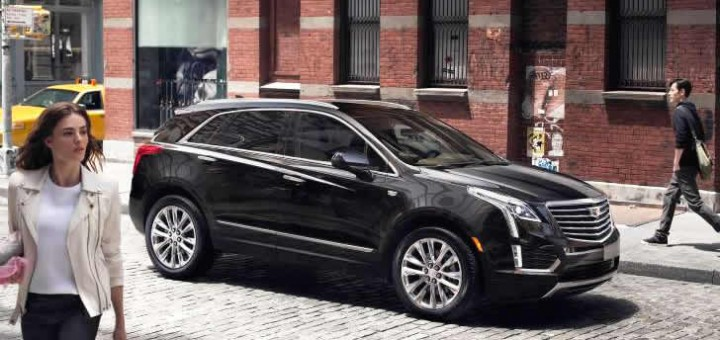 2017 Cadillac XT5 in the city