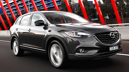 new cx-9 driving