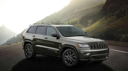 Grand Cherokee 75th Anniversary edition