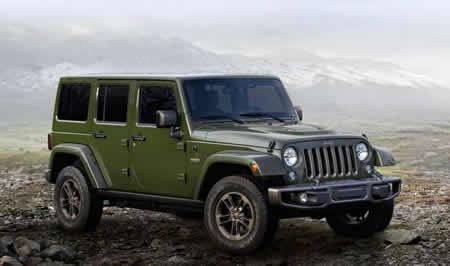 Wrangler 75th edition