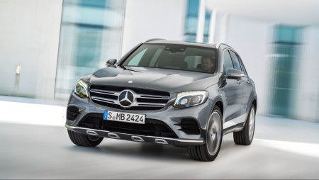 2016-Mercedes-Benz-GLC-Class-4Matic-front-end-in-motion