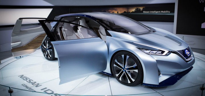 Nissan IDS Concept featured at 2016 North American International