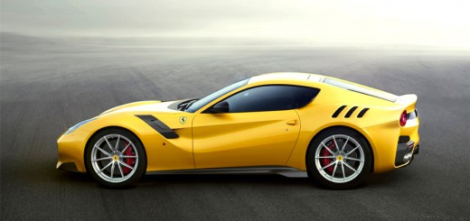 f12tdf yellow sideview